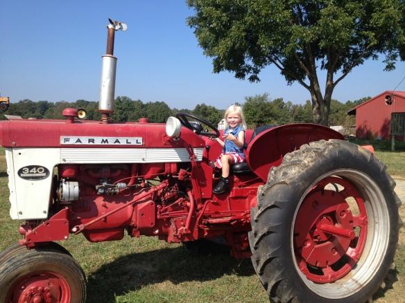 tractor girl